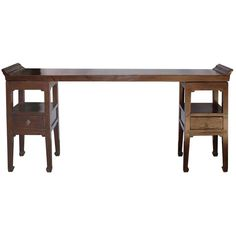 Three-Piece Elm Console Table 1