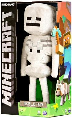 "Official Minecraft Skeleton 13"" Plush Toy Figure Minecraft,http://www.amazon.com/dp/B00IDD87RE/ref=cm_sw_r_pi_dp_WM5otb1JBBGGQAF5"