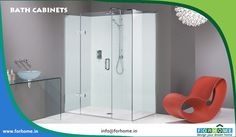Matki EauZone Plus Hinge and Inline Panel for Corner - luxury shower enclosure. Set here in contemporary surroundings with statement furniture and chandelier. Corner Shower Stalls, Shower Stall Kits, Shower Enclosure, Contemporary Shower, Modern Shower, Glass Bathroom, Small Bathroom, Bathroom Ideas, Bathroom Stuff