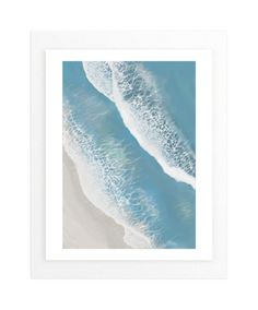 """""""Foam From Above"""" - Art Print by Melanie Shaul in beautiful frame options and a variety of sizes."""