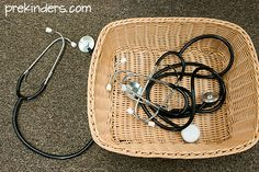 stethoscopes in Doctor Dramatic Play
