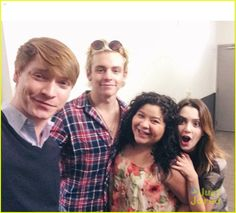 Austin and Ally Cast aka the best cast ever!