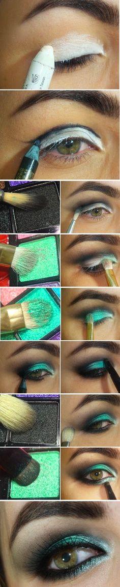 GreenWash Mint Makeup Tutorials | Love Makeup / Best LoLus Makeup Fashion
