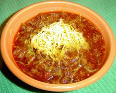 Easy Crock Pot Chili- trying this tomorrow