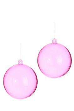 2 Boules de Noël à garnir, Diamètre 8 cm  à découvrir sur tati.fr. Une sélection de la rédaction de www.source-a-id.com