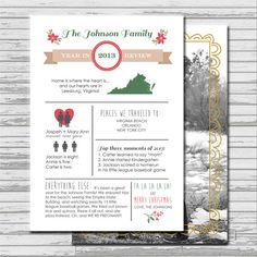 Year in Review Infographic Custom Photo by bellaloveletters, $15.00