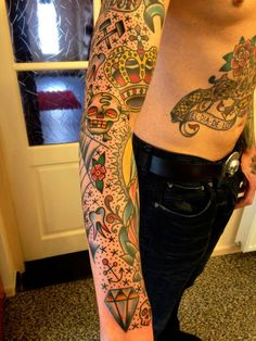 Old school fullsleeve