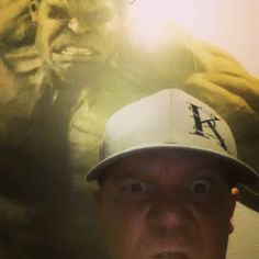 Watch out for #green #men. @hulkhogan @instagood #hulk #incrediblehulk @konnectedclothing Jeremiah Johnson being followed by the Big Green Guy. Jeremiah Johnson, Incredible Hulk, Nerd Stuff, Guys, Watch, Big, Green, Clock, Boys