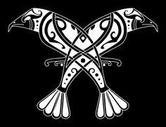 <b>Old</b> <b>Norse</b> <b>Tattoos</b> Huginn & muninn (<b>old</b> <b>norse</b>