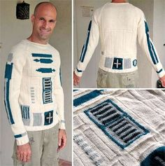 R2-D2 Knitted Sweater