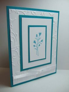 Embossed Pocket Flowers by maria031767 - Cards and Paper Crafts at Splitcoaststampers