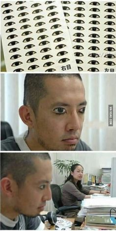 Stay awake stickers