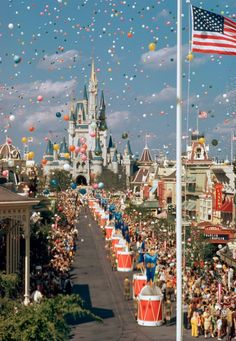 Walt Disney World, Grand Opening. I want to go see this place one day. Please check out my website Thanks.  www.photopix.co.nz