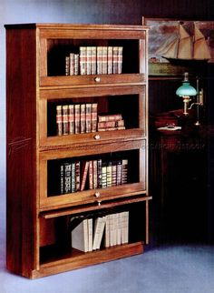 barristers bookcase plans furniture plans