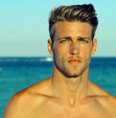 #hair #Haircut #style #hairstyle #look #guy #male #beard