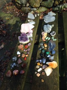 Find images and videos about nature, crystal and stones on We Heart It - the app to get lost in what you love. Crystals Minerals, Rocks And Minerals, Crystals And Gemstones, Stones And Crystals, Crystal Magic, Crystal Healing, Crystal Guide, Crystal Aesthetic, Mineral Stone