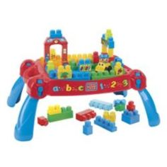 Buy Mega Bloks First Builders 3 in 1 Play'n Go Table from our Building Blocks range - Tesco.com