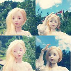 """""""2016년 선보일 1/6 인형... 관절 수정중이다. 몸이 10개면 참 좋겠네... #bisquedoll #porcelaindoll #balljointeddoll #bjd #artdoll #dollstagram #dollmaking #ceramicdolls #doll…"""""""