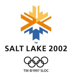 The logo was a snowflake for winter Olympics but also a snowcapped mountain with the sun rising or setting over it