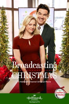 "Its a Wonderful Movie - Your Guide to Family Movies on TV: 'Broadcasting Christmas' - a Hallmark Channel Original ""Countdown to Christmas"" Movie starring Dean Cain & Melissa Joan Hart! Family Christmas Movies, Hallmark Christmas Movies, Hallmark Movies, Family Movies, Christmas 2016, Holiday Movies, Christmas Poster, Funny Christmas, Christmas Ideas"