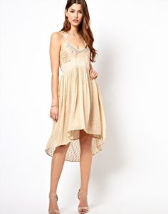 Frock And Frill Hi Lo Dress $64
