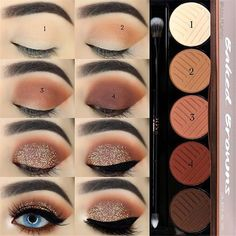 Amazing eye makeup tutorial for beginners, eazy eye makeup ideas, eye makeup ste. - Amazing eye makeup tutorial for beginners, eazy eye makeup ide. Everyday Eyeshadow, Red Eyeshadow, How To Apply Eyeshadow, Colorful Eyeshadow, Colorful Makeup, Eyeshadow Palette, Easy Eyeshadow, Beginner Eyeshadow, Simple Makeup