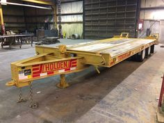 HOLDEN TDO30 Equipment Trailer