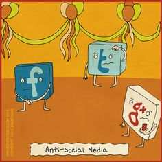Social media is about having conversations. Don't be anti-social on social media!