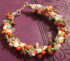EDITOR'S CHOICE (12/12/2016) Fruity Delight by Rikki Castle Andrews View details here: http://jewelers.community/creations/4106-fruity-delight