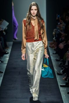 MFW Runway Review: Bottega Veneta Fall 2015 via OliviaPalermo.com