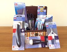 oooo....amazing Prym sewing supplies prize for the #learntosewlauren competition Makers Gallery October | Guthrie & Ghani