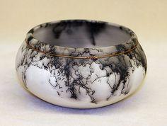 Copper banded horse hair bowl by DakotaBones on Etsy, $140.00