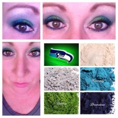 #superbowl #Seahawks #younique #Makeup http://www.beeyouneek.com