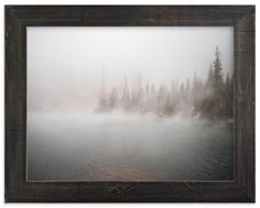 """""""Steam Off the Lake"""" - Art Print by Jonathan Campbell in beautiful frame options and a variety of sizes."""