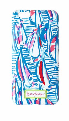 Lilly Pulitzer iPhone 6 Case in Red Right Return- love this sailboat print for summer