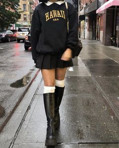 Cute Casual Outfits, Retro Outfits, Grunge Outfits, Fall Outfits, Aesthetic Fashion, Aesthetic Clothes, Cute Fashion, Fashion Outfits, Vetement Fashion