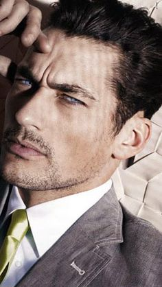 David Gandy - seriously intense eyes. Could definitely play Gideon in a Crossfire movie