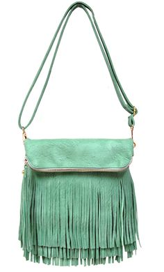 5d86486fe03d Avery Fringe Flapover Clutch   Convertible