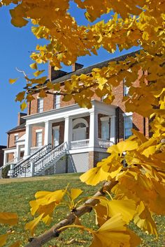 Dickson-Williams Mansion fall photo by Phil Gentry.  Call 423-787-0500 for daily tour information.
