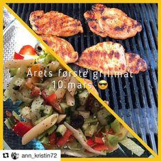 Uteservering . #reiseliv #reisetips #reiseblogger #reiseråd  #Repost @ann_kristin72 with @repostapp  Årets første grillings  marinerte koteletter og pastasalat. Vi spiste inne... ...................... #grillsesong #grillsesong2017 #koteletter #pastasalat #middag #dinner #food #foodporn #lovefood