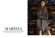 Martha Hunt in Normcore Style for L'Officiel Mexico Cover Shoot