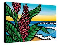 Ginger Beach- 16x20 Giclee on Canvas