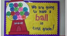 second grade welcome back to school bulletin board ideas - Bing Images