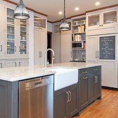 Beth & Kris\' French Bistro Kitchen - Kraus sink & faucet | hello ...