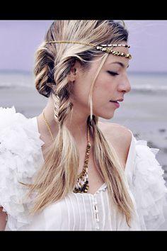 Coiffure mariage tresses indiennes headband libertie is my religion - Coiffure de mariage 2013: 70 idées inspirantes - L'EXPRESS
