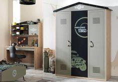 Παιδική ντουλάπα 3 φύλλα Camp 63003 Lockers, Locker Storage, Cabinet, Furniture, Home Decor, Clothes Stand, Decoration Home, Room Decor, Closet