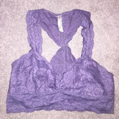 Galloon Lace Racerback Free People Brand New, only has been tried on. Free People Intimates & Sleepwear Bras