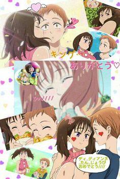 Nanatsu no Taizai ° King&Diane Anime Love, Real Anime, Cute Anime Boy, Otaku Anime, Seven Deadly Sins Anime, 7 Deadly Sins, Animes Wallpapers, Cute Wallpapers, Kawaii Cute