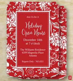 Personalized Custom Christmas Invitation for a Holiday Party, Elegant Holiday Custom Die Cut Party Invite, Christmas Invite for the Holidays from our collection of Whimsical Wall Art, Stationery and Gifts. Christmas Invitations, Party Invitations, Invite, Colored Envelopes, White Envelopes, Personalized Christmas Gifts, School Gifts, Holiday Parties, Custom Printing