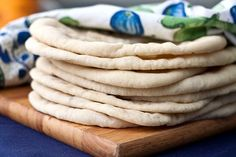 pita bread - made with whole wheat flour (just used a little less), turned out delicious, won't be buying pitas from the store. ever. again.  (think I'll try the other whole wheat pita recipe I pinned) - and next time I'll make a double batch and try freezing, the gyro recipe made a lot, so it would be nice to have lots of pitas.